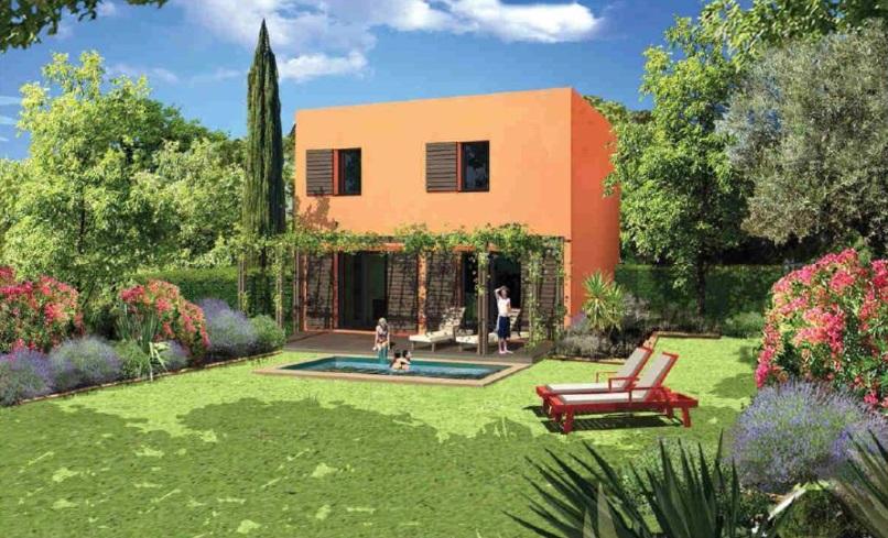 vente proche biot villa neuve bio climatique 3 chambres. Black Bedroom Furniture Sets. Home Design Ideas